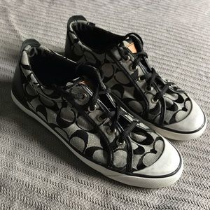 Size 8 Coach Barrett Sneakers